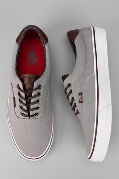 Vans Era 59 Canvas Sneaker from Urban Outfitters. Saved to Vans. Nike Outfits, Vans Era 59, Men S Shoes, Guy Shoes, La Mode Masculine, Vans Sneakers, Me Too Shoes, Casual Shoes, Keds