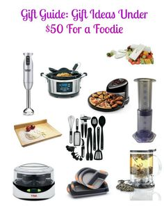 Gift Ideas Under $50 For Foodies