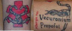 medical tattoo - Google Търсене