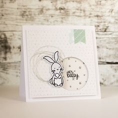 Baby card; Avery Elle woodland wonders, Special Delivery; Crate Paper Little One