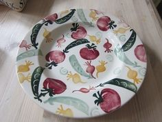 Vegetables 10.5 inch Plate (Sample)