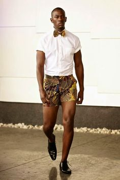 #Menswear #Trends David Tlale Spring Summer 2015 Primavera Verano #Tendencias #Moda Hombre M.F.T.
