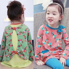 Aliexpress.com : Buy 2014 spring and autumn onrabbit print girls clothing child long sleeve dress qz 0907 on Kids Fashion Clothing - Worldwi...