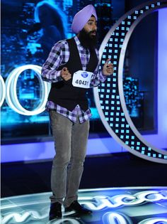 The Turbanator from American Idol reminded me of the Middle East