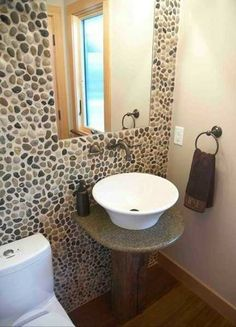 Modern Interior Design and Backyard Landscaping Ideas Bringing Stone Pebbles into Stylish Homes