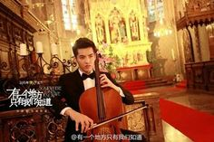 Cellist Kris~Handsome!!