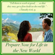 Prepare now for life in the new world.