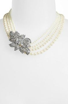 REVEL: Multistrand Pearl Necklace