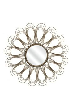 Exeter Wire Wall Mirror by Imax on @HauteLook