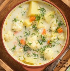 CAULIFLOWER SOUP – OMG RECIPES