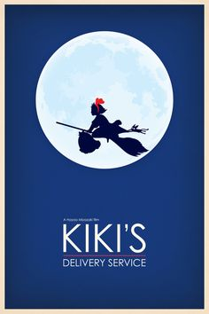Kiki's Delivery Service (1989)...love this! made me want to be a witch!
