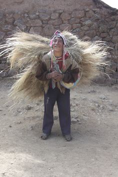 The Sacred Valley, Peru. Traditional farmer.