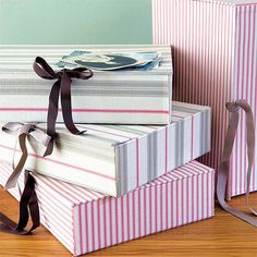 Cover boring boxes with fabric