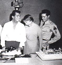 Dean Martin, Shirley Maclaine, and Elvis.
