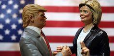 [EN VIVO] @realDonaldTrump y @HillaryClinton se enfrentan en el...