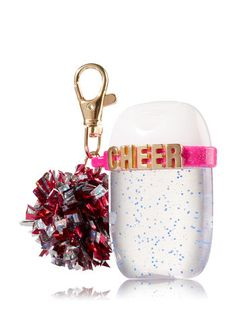 Keep hands clean with Foaming, Deep Cleansing & Specialty Hand Soaps, soap holders, PocketBac and Sanitizers in Bath & Body Works exclusive fragrances. Bath And Body Works Perfume, Bath N Body Works, Cheerleading Gifts, Cheer Gifts, Cheer Pom Poms, Cheer Makeup, Hand Sanitizer Holder, Diy Lip Gloss, Cute School Supplies