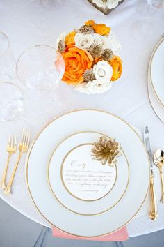 loving this place setting