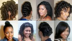 Heat Free Hairstyles for a Simple Healthy Hair Regimen #hair #hairstyles #relaxedhair #healthyhair