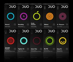 The Dieline Awards DUO condoms- mousegraphics — The Dieline - Branding & Packaging Design Cool Packaging, Brand Packaging, Product Packaging, Medical Packaging, Innovative Packaging, Juice Packaging, Packaging Ideas, Design Awards, Design Trends