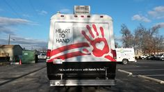 #hearttohand #heart #hand #custom #autowrap #buswrap #vinylwrap #customwrap #wrap #bus #design #vehiclewrap #carwrap