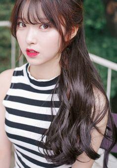 Kim na hee pinkage ulzzang korean in 2019 korean hairstyles Korean Bangs Hairstyle, Hairstyles With Bangs, Pretty Korean Girls, Beautiful Asian Girls, Korean Beauty, Asian Beauty, Kim Na Hee, Ulzzang Girl, Kfashion Ulzzang