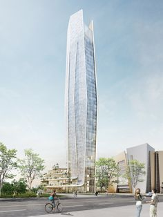 Gallery of Elizabeth de Portzamparc Unveils New Skyscraper Manifesto With Competition Winning Taichung Intelligence Operations Center - 7