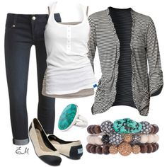 Confidence, created by tshirtnjeans on Polyvore