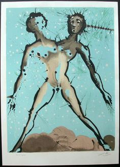 Salvador Dali - Twelve Signs (12) of the Zodiac Illustrated Book
