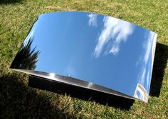 ClearDome SolaReflex AA Mirror Surface Flat and bendable 95.5% Solar Reflector Panels -Ideal for concentrating solar thermal and PV, flat heliostat reflectors, reflecting radiant heat over 1.2K degrees F, artificial & skylighting enhancement, plant grow lights, solar cooking, classroom, scientific, solar daylighting and photographic uses Top rated 2' x 4' ClearDome SolaReflex AA (polished anodized aluminum substrate) light and solar reflector panel