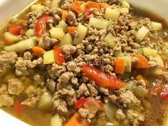 Casa Baluarte Filipino Recipes Ginisang Giniling Na Pork Recipe