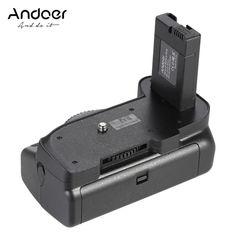 Andoer BG-2G Vertical Battery Grip Holder for Nikon D5100 D5200 D5300 DSLR Camera EN-EL 14 Battery