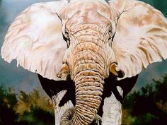 Magnificent One, oil, 8 x 6 ft, ©Kindrie Grove Studios