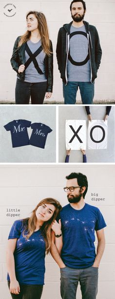 Our matching t-shirt sets are the perfect gift for couples, siblings and bffs alike. Each complimentary shirt pair offers a modern, stylish take on friendship and togetherness. Made in the USA, and hand-printed in Richmond, VA, each set comes neatly folded inside a reusable cotton bag and is ready to gift. No romance required. Visit our Etsy shop to view the full collection of t-shirt sets, tea towels and other year-round gifting ideas.
