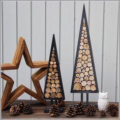 (Oh) Tannenbaum...aus Holz in 2 Größen von Euli & Co auf DaWanda.com