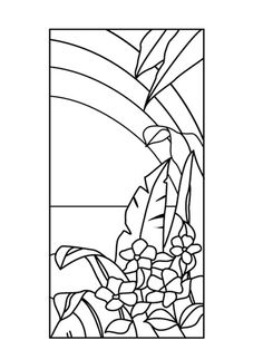 ★ Stained Glass Patterns for FREE ★ glass pattern 807 ★