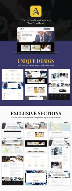 Utah - Educational Consultant WordPress Theme - ModelTheme Create Your Website, Business Website, Wordpress Theme, Utah, Finance, Advice, Author, Social Media, Education