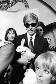 lynxolita:    Catherine Deneuve, Andy Warhol and Edie Sedgwick