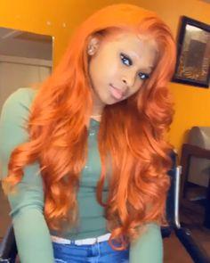 Source by elemohair Baddie Hairstyles, Black Girls Hairstyles, Weave Hairstyles, Cool Hairstyles, Hairdos, Colored Wigs, Colored Hair, Black Girl Braids, Beautiful Hair Color