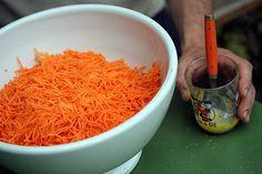 carrots & dressing