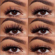 Huda Beauty lashes // Patrizia Conde
