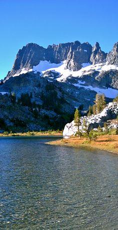 Ediza Lake in the Ansel Adams Wilderness, California