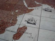 ▶ Cidade de Belem, Portugal, Mapa do Navegante, Pedro Alvares Cabral