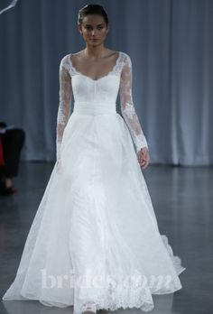 Monique Lhuillier wedding dress - Fall 2013