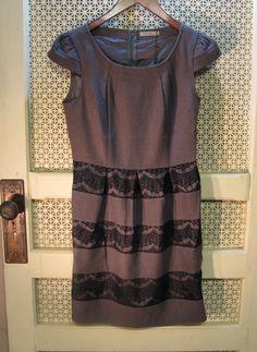 Darling Agnes Dress in Grey