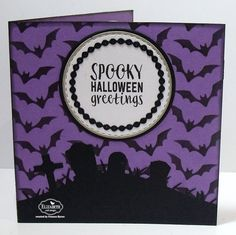 Pop it Ups Wednesday with Frances - Spooky Halloween Greetings