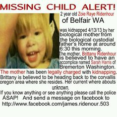 Missing Missing Child, Missing Persons, Child Alert, Bremerton Washington, Biological Mother, Missing And Exploited Children, Bring Them Home, All Over The World, Brittany
