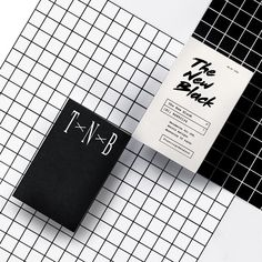 The New Black by @estudio_yy - See more on the site http://ift.tt/1OM78Ks - #logo #branding #brandidentity #logotype #graphicdesign #design #contemporary #typography #studio #print #hairdresser by thebrandidentity
