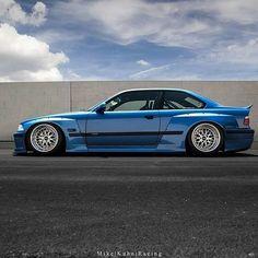 Blue Bird BMW M3 E46 Sedan, E36 Coupe, Custom Bmw, Custom Cars, E36 Compact, Super Pictures, Bmw M1, Bmw Classic Cars, Bmw Love