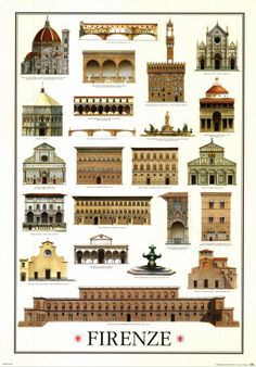 prominent buildings/ structures of Florence