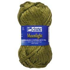 Lã Cisne Moonlight - Novelo com 100g